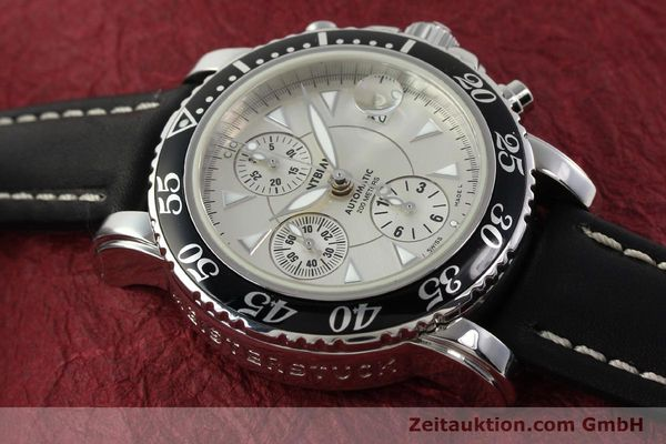 Used luxury watch Montblanc Sport Chronograph steel automatic Ref. 7034  | 141817 13