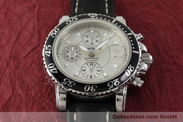 Used luxury watch Montblanc Sport Chronograph steel automatic Ref. 7034  | 141817 14