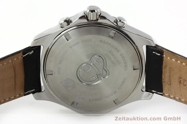 Used luxury watch Tag Heuer Aquaracer chronograph steel automatic Ref. CAF101F  | 141819 09
