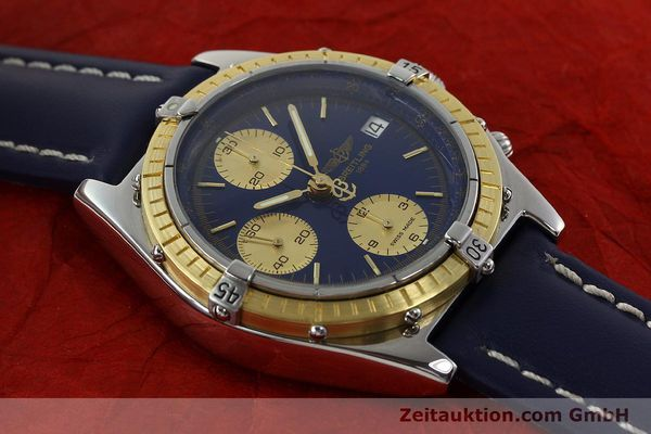 Used luxury watch Breitling Chronomat steel / gold automatic Kal. B13 Ref. 81.950D13047  | 141821 13
