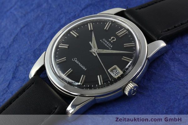 Used luxury watch Omega Seamaster steel automatic Kal. 565 Ref. 166009  | 141823 01