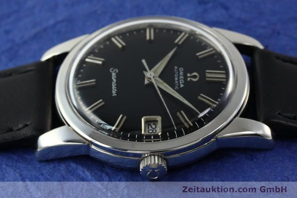 Used luxury watch Omega Seamaster steel automatic Kal. 565 Ref. 166009  | 141823 05