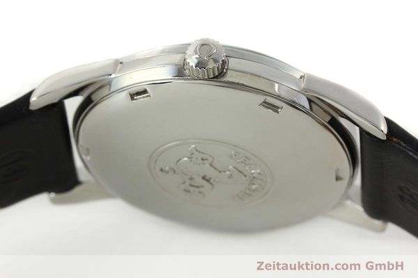 Used luxury watch Omega Seamaster steel automatic Kal. 565 Ref. 166009  | 141823 09