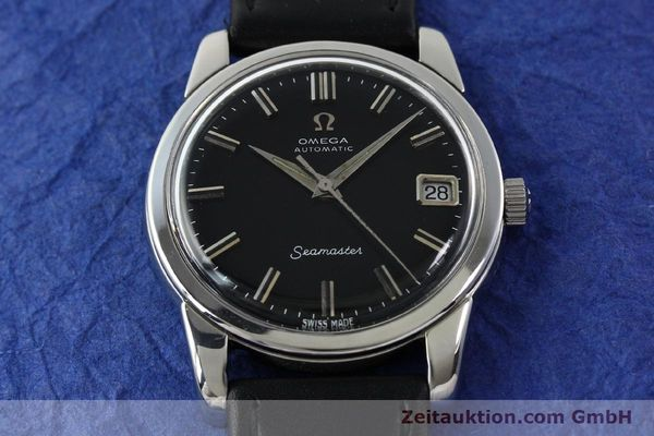 Used luxury watch Omega Seamaster steel automatic Kal. 565 Ref. 166009  | 141823 12