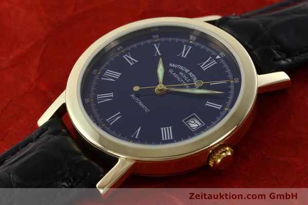Used luxury watch Mühle * 14 ct yellow gold automatic Kal. ETA 2824-2 Ref. 13250  | 141824 01