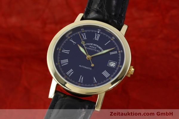 Used luxury watch Mühle * 14 ct yellow gold automatic Kal. ETA 2824-2 Ref. 13250  | 141824 04