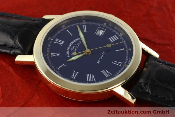 Used luxury watch Mühle * 14 ct yellow gold automatic Kal. ETA 2824-2 Ref. 13250  | 141824 12