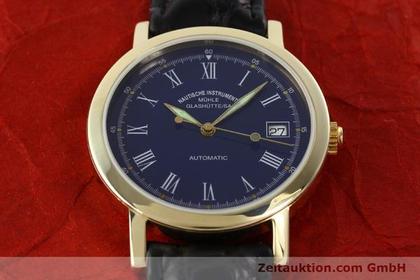 Used luxury watch Mühle * 14 ct yellow gold automatic Kal. ETA 2824-2 Ref. 13250  | 141824 13