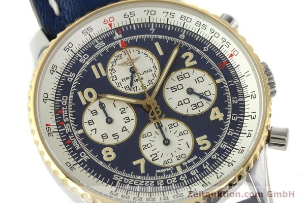 Used luxury watch Breitling Navitimer gilt steel automatic Kal. ETA 2892-2  | 141825 02