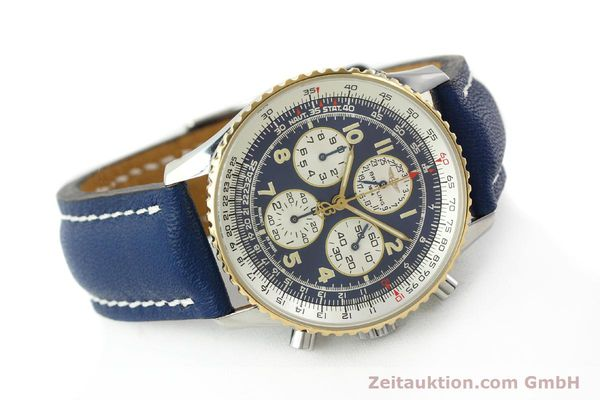 Used luxury watch Breitling Navitimer gilt steel automatic Kal. ETA 2892-2  | 141825 03