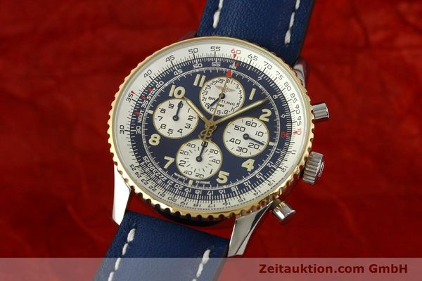Used luxury watch Breitling Navitimer gilt steel automatic Kal. ETA 2892-2  | 141825 04