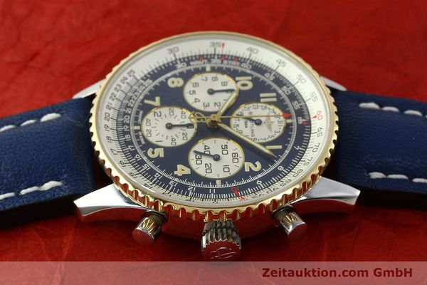 Used luxury watch Breitling Navitimer gilt steel automatic Kal. ETA 2892-2  | 141825 05