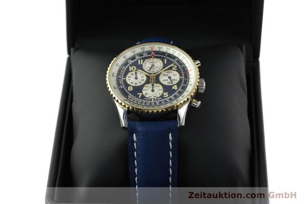 Used luxury watch Breitling Navitimer gilt steel automatic Kal. ETA 2892-2  | 141825 07