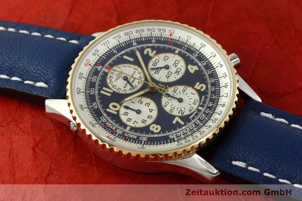 Used luxury watch Breitling Navitimer gilt steel automatic Kal. ETA 2892-2  | 141825 14
