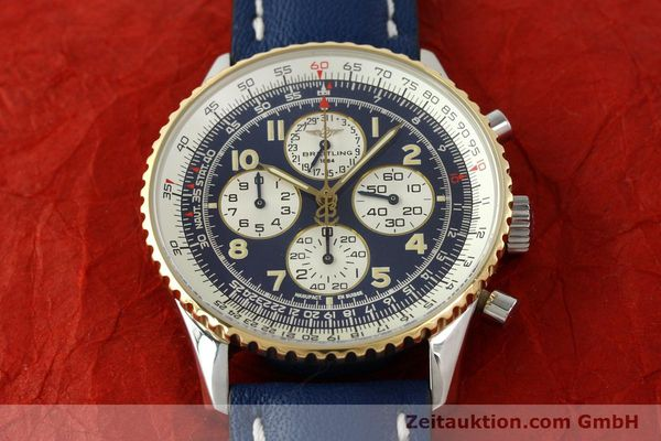 Used luxury watch Breitling Navitimer gilt steel automatic Kal. ETA 2892-2  | 141825 15