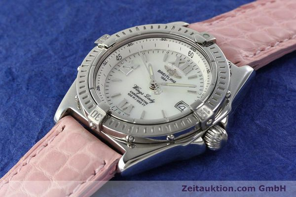Used luxury watch Breitling Wings steel quartz Kal. B67 ETA 211164 Ref. A67350  | 141827 01