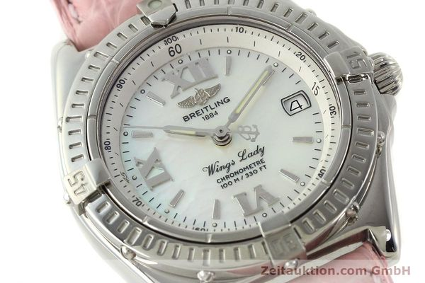 Used luxury watch Breitling Wings steel quartz Kal. B67 ETA 211164 Ref. A67350  | 141827 02