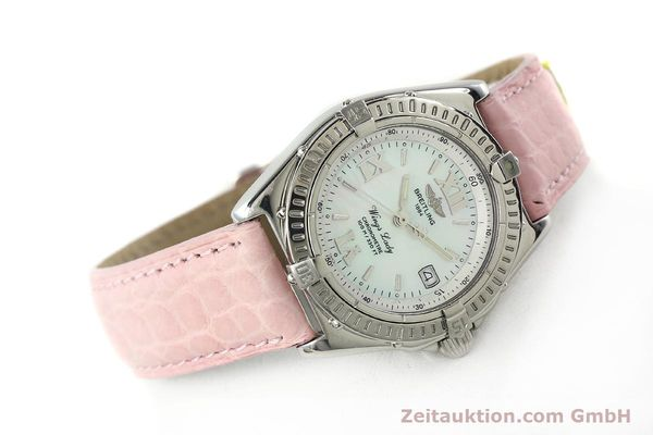 Used luxury watch Breitling Wings steel quartz Kal. B67 ETA 211164 Ref. A67350  | 141827 03