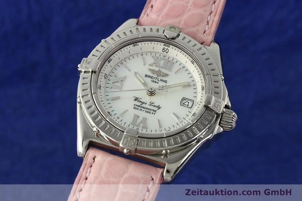 Used luxury watch Breitling Wings steel quartz Kal. B67 ETA 211164 Ref. A67350  | 141827 04