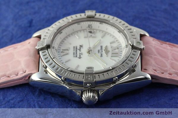 Used luxury watch Breitling Wings steel quartz Kal. B67 ETA 211164 Ref. A67350  | 141827 05