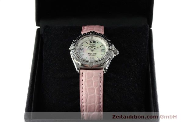 Used luxury watch Breitling Wings steel quartz Kal. B67 ETA 211164 Ref. A67350  | 141827 07