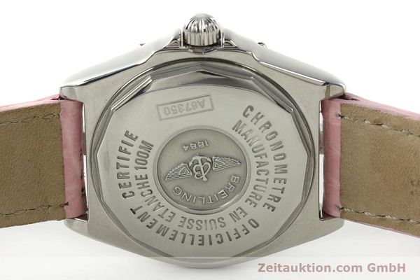 Used luxury watch Breitling Wings steel quartz Kal. B67 ETA 211164 Ref. A67350  | 141827 09