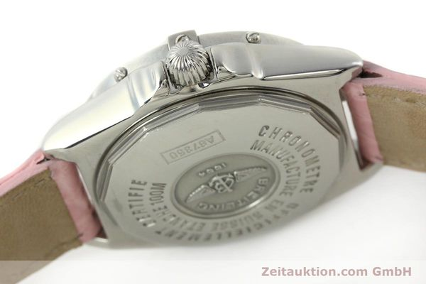 Used luxury watch Breitling Wings steel quartz Kal. B67 ETA 211164 Ref. A67350  | 141827 11