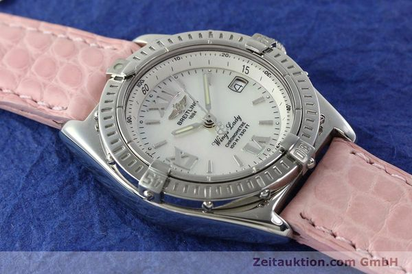 Used luxury watch Breitling Wings steel quartz Kal. B67 ETA 211164 Ref. A67350  | 141827 15