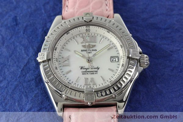Used luxury watch Breitling Wings steel quartz Kal. B67 ETA 211164 Ref. A67350  | 141827 16