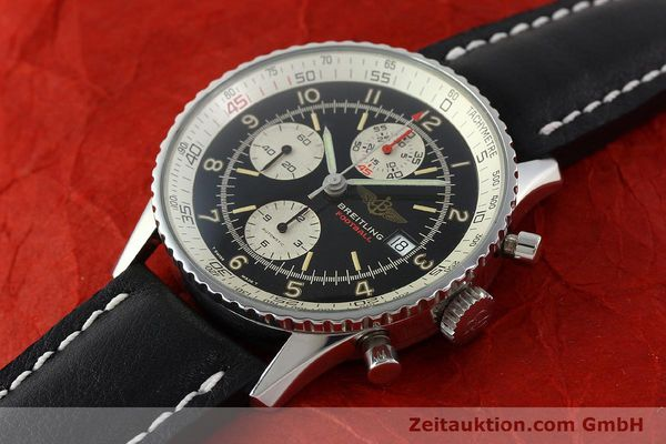 Used luxury watch Breitling Navitimer steel automatic Kal. VAL 7750 Ref. 81610  | 141830 01