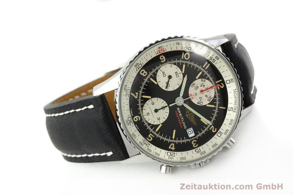 Used luxury watch Breitling Navitimer steel automatic Kal. VAL 7750 Ref. 81610  | 141830 03