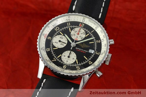 Used luxury watch Breitling Navitimer steel automatic Kal. VAL 7750 Ref. 81610  | 141830 04