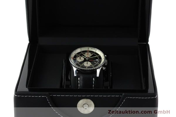 Used luxury watch Breitling Navitimer steel automatic Kal. VAL 7750 Ref. 81610  | 141830 07