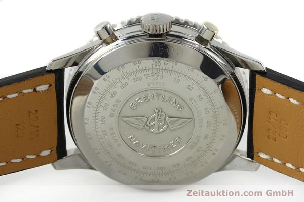 Used luxury watch Breitling Navitimer steel automatic Kal. VAL 7750 Ref. 81610  | 141830 09