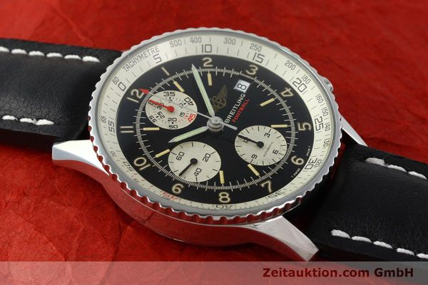 Used luxury watch Breitling Navitimer steel automatic Kal. VAL 7750 Ref. 81610  | 141830 12