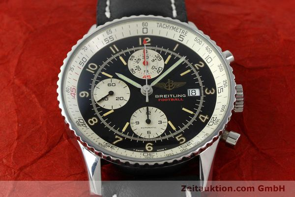 Used luxury watch Breitling Navitimer steel automatic Kal. VAL 7750 Ref. 81610  | 141830 13
