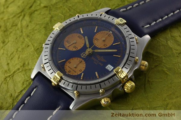 Used luxury watch Breitling Chronomat chronograph steel / gold automatic Kal. VAL 7750 Ref. 81.950  | 141833 01