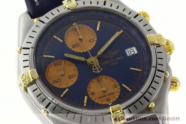 Used luxury watch Breitling Chronomat chronograph steel / gold automatic Kal. VAL 7750 Ref. 81.950  | 141833 02