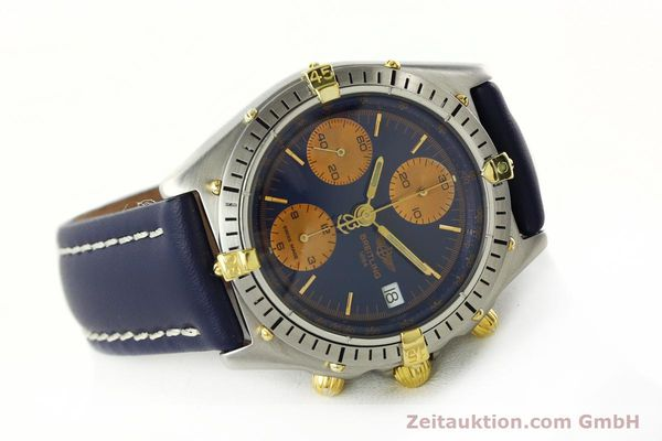 Used luxury watch Breitling Chronomat chronograph steel / gold automatic Kal. VAL 7750 Ref. 81.950  | 141833 03