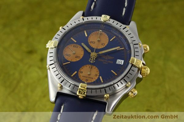 Used luxury watch Breitling Chronomat chronograph steel / gold automatic Kal. VAL 7750 Ref. 81.950  | 141833 04
