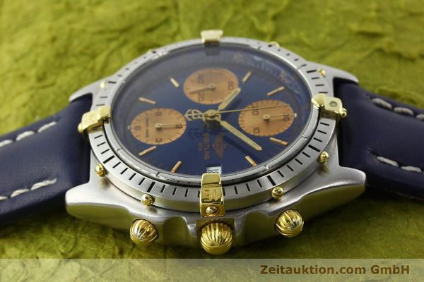 Used luxury watch Breitling Chronomat chronograph steel / gold automatic Kal. VAL 7750 Ref. 81.950  | 141833 05