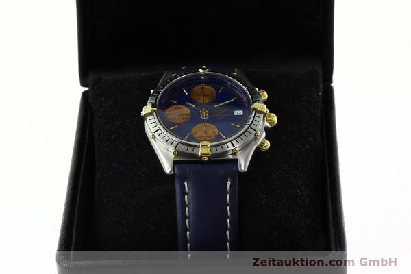 Used luxury watch Breitling Chronomat chronograph steel / gold automatic Kal. VAL 7750 Ref. 81.950  | 141833 07