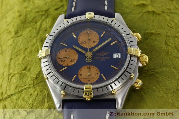 Used luxury watch Breitling Chronomat chronograph steel / gold automatic Kal. VAL 7750 Ref. 81.950  | 141833 14