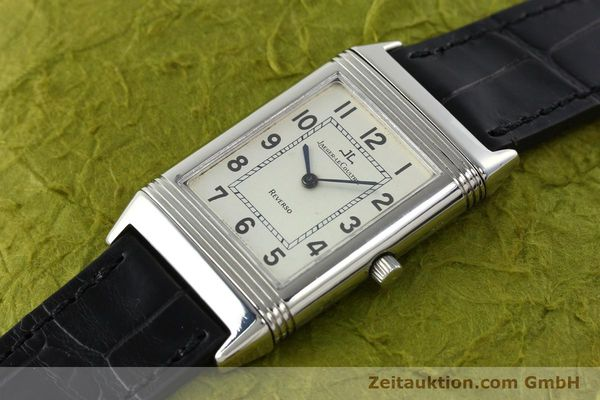 Used luxury watch Jaeger Le Coultre Reverso steel manual winding Kal. 846 Ref. 250.8.86  | 141835 01