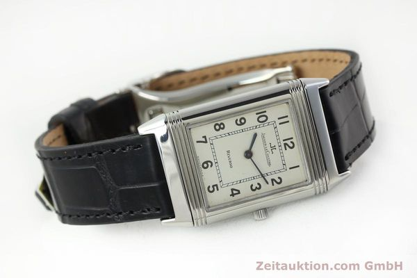 Used luxury watch Jaeger Le Coultre Reverso steel manual winding Kal. 846 Ref. 250.8.86  | 141835 03