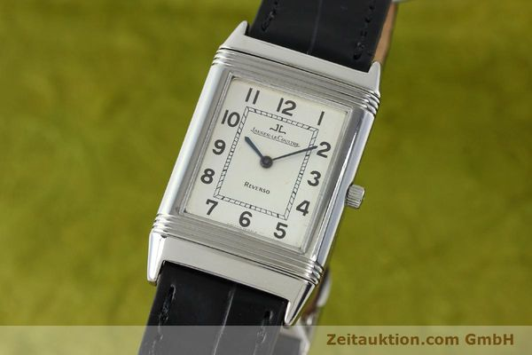 Used luxury watch Jaeger Le Coultre Reverso steel manual winding Kal. 846 Ref. 250.8.86  | 141835 04