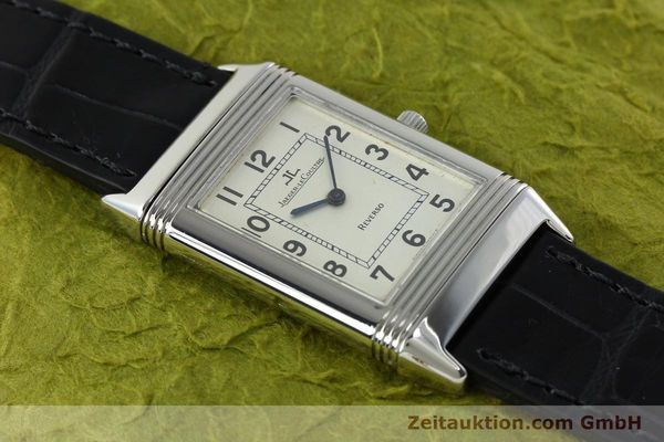Used luxury watch Jaeger Le Coultre Reverso steel manual winding Kal. 846 Ref. 250.8.86  | 141835 12