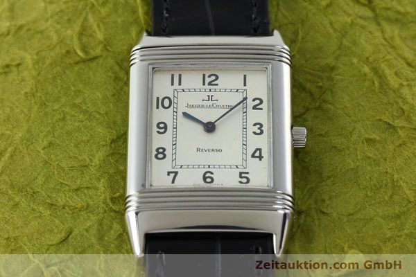 Used luxury watch Jaeger Le Coultre Reverso steel manual winding Kal. 846 Ref. 250.8.86  | 141835 13