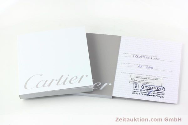 Used luxury watch Cartier Santos 100 steel automatic Kal. 076 ETA 2671  | 141836 08