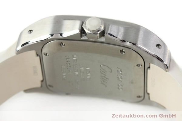 Used luxury watch Cartier Santos 100 steel automatic Kal. 076 ETA 2671  | 141836 11